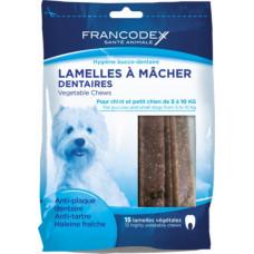 Lamelle Igiene Dentale  Per Cani Piccoli 15 lamelle - Sacchetto da 224 g