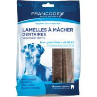 Lamelle Igiene Dentale  Per Grande Cane  15 lamelle - Sacchetto da 490 g
