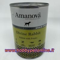 Amanova umido adult coniglio 400gr