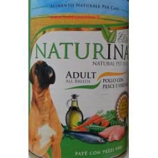 Naturina umido cane adult 400 gr