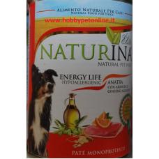 Naturina umido cane energy life 400gr