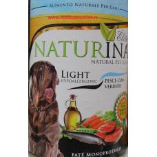 Naturina umido cane light pesce 400gr