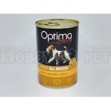 Optimanova Wet Adult Anatra 400gr
