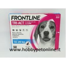 Frontline TRI-ACT 10-20 kg SOLO PER CANI