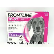 Frontline TRI-ACT 20-40 kg SOLO PER CANI