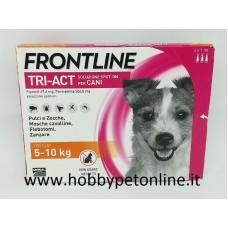 Frontline TRI-ACT 5-10 kg SOLO PER CANI