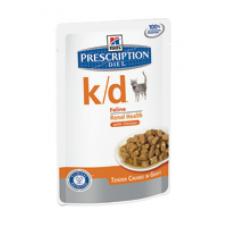 Hiills Prescription Diet K/D salmone Feline 85gr x12