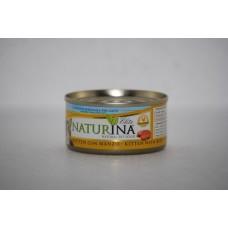 Naturina umido gatto kitten con manzo 70 gr