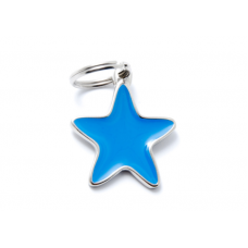 My family medaglietta stella blu