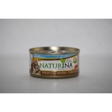Naturina umido gatto pollo con anatra 70 gr