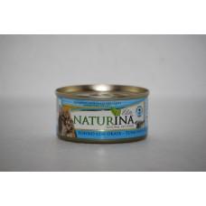 Naturina umido gatto tonno con pesce bianco 70gr