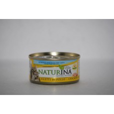 Naturina umido gatto filetti di pollo 70 gr