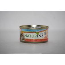 Naturina umido gatto tonno con prosciutto 70 gr