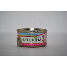 Naturina umido gatto tonno con più gamberetti 70 gr