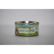 Naturina umido gatto tonno con olive 70 gr