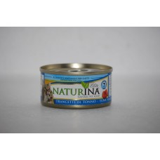 Naturina umido gatto trancetti di tonno 70 gr