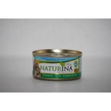 Naturina umido gatto tonno con verdurine 70 gr