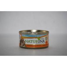 Naturina umido gatto tonno con zucca 70 gr