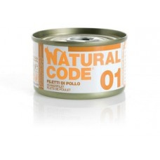 Natural Code 01 filetti di pollo 85gr