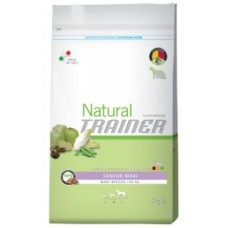 Natural trainer senior maxi pollo 12,5 kg