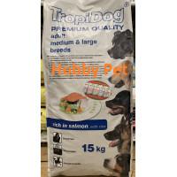 Tropidog adult salmone 15Kg (senza carne e olio di pollo)
