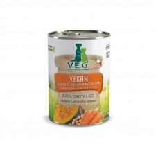 V.E.G. Vegan zucca carota e ceci 400gr