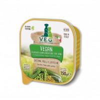 V.E.G. Vegan zucchine piselli e lenticchie 150gr