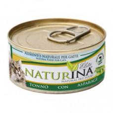 Naturina umido gatto tonno con asparagi 70 gr