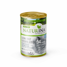 Naturina Elite Umido Low Fat / Sterilized 400g