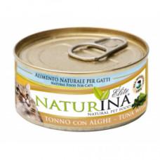 Naturina umido gatto tonno  con alghe 70 gr