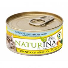 Naturina umido gatto tonno  con ananas 70 gr