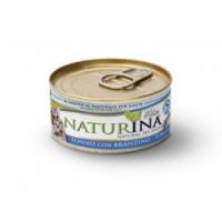 Naturina umido gatto tonno con branzino 70gr