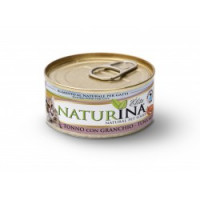 Naturina umido gatto tonno con granchio 70gr