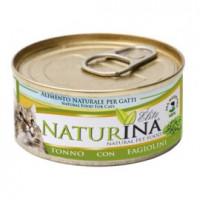 Naturina umido gatto tonno con fagiolini 70 gr