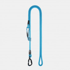 Guinzaglio Ringhio 180cm moschettone climb azzurro