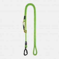 Guinzaglio Ringhio 180cm moschettone climb verde