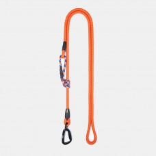 Guinzaglio Ringhio 180cm moschettone climb arancio