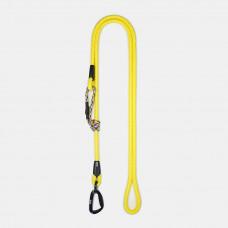 Guinzaglio Ringhio 180cm moschettone climb giallo
